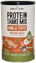 YesYouCan Protein Shake Mix Vanilla Toffee for Bone Health G/F 500g New