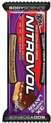 BSc High Protein Muscle Bar Peanut Butter Fudge 12x80g