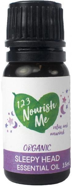 123 Nourish Me Sleepy Head Essential Oil 15g New