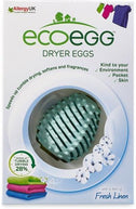 Ecoegg Dryer Eggs Fresh Linen (2 Dryer Eggs & 4 Fragrance Sticks)