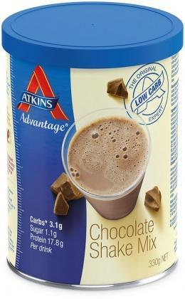 Atkins Shake Mix - Chocolate 2x330g-Health Tree Australia