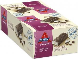 Atkins Endulge Single - Chocolate Coconut 15x40g-Health Tree Australia