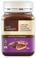 Sweet William Choc Spread G/F 385g-Health Tree Australia