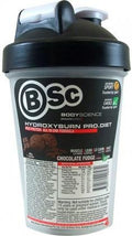 BSc HydroxyBurn Shake n Take Chocolate Fudge 3x40g