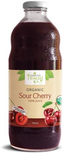 Complete Health Organic Sour Cherry 100% Juice 700ml-Health Tree Australia