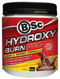 BSc ATHLETE Hydroxyburn Pro.Diet Chocolate Fudge Powder 400g
