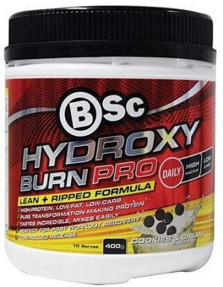BSc Hydroxyburn Pro Cookies & Cream Powder 400g-Health Tree Australia