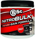 BSc Nitrobulk Muscle Premium Gainer Vanilla Ice Cream Powder 500g