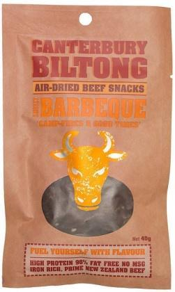 Canterbury Biltong Smokey Barbeque 40g-Health Tree Australia