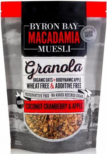 Byron Bay Macadamia Muesli Granola Coconut, Cranberry & Apple 2Kg-Health Tree Australia