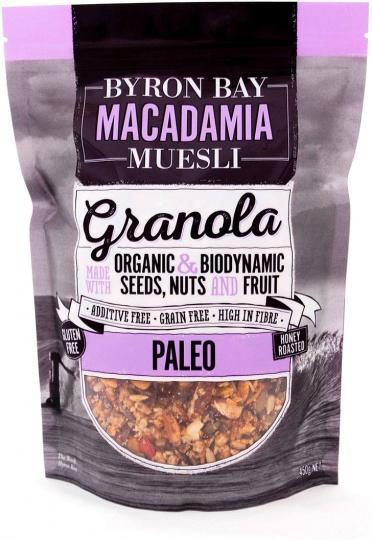 Byron Bay Macadamia Muesli Gluten Free Granola Paleo Mix Honey Roasted 2Kg-Health Tree Australia