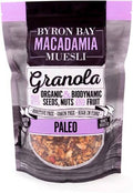 Byron Bay Macadamia Muesli Gluten Free Granola Paleo Mix Honey Roasted 2Kg