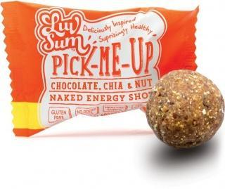 Luv Sum Natural Energy & Protein Balls Chocolate, Chia & Nut G/F 12x42gm
