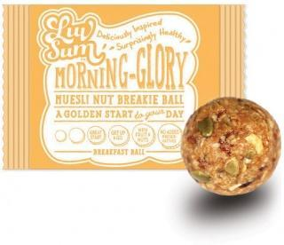 Luv Sum Natural Energy & Protein Balls Morning Glory 12x42gm AUG17-Health Tree Australia