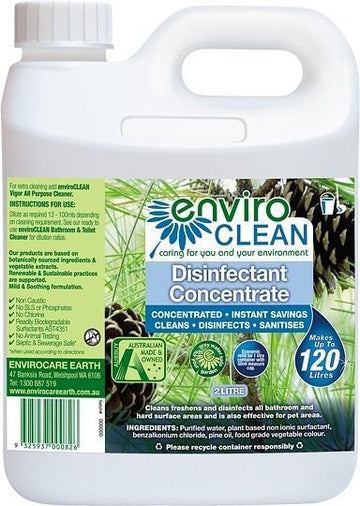 Enviro Care Disinfectant Concentrate 2L New