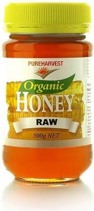 Pure Harvest Organic Raw Honey 500gms-Health Tree Australia