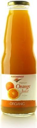Pure Harvest Organic Orange Juice 1ltr x 6-Health Tree Australia