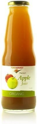Pure Harvest Organic Apple Juice 1ltr x 6 (1 box)-Health Tree Australia