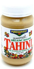 Pure Harvest Organic Tahini Hulled 375gm