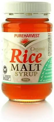 Pure Harvest Organic Rice Malt Syrup 500gm-Health Tree Australia