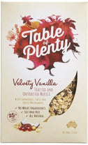 Table of Plenty Velvety Vanilla Muesli 500g-Health Tree Australia