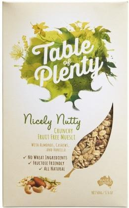 Table of Plenty Nicely Nutty Muesli 500g