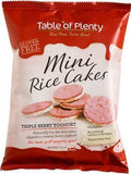 Table of Plenty Triple Berry Yoghurt Mini Rice Cakes G/F 60g