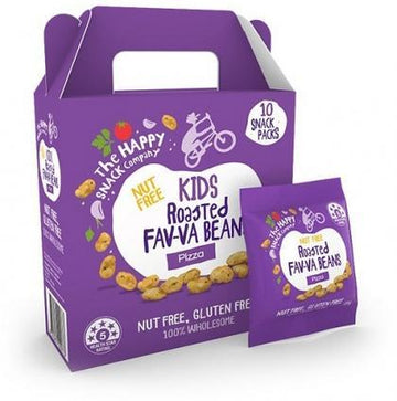 The Happy Snack Company KIDS Fav-va Beans Pizza 10x15g Pack