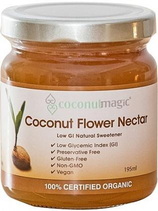 Coconut Magic Organic Coconut Flower Nectar 195ml-Health Tree Australia
