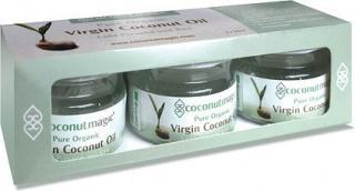 Coconut Magic Organic Virgin Coconut Oil 3x25ml Trio Pk-Health Tree Australia