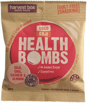 Harvest Box GoGo Goji Health Bombs 40g