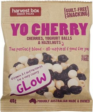 Harvest Box YO Cherry, Dried Fruit & Nut w/Yoghurt Balls G/F 45g