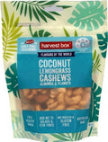 Harvest Box Coconut Lemongrass Cashews Almonds & Peanuts G/F 140g