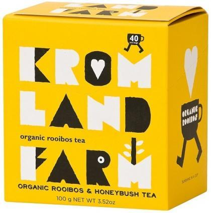 Kromland Farm Organic Rooibos Honeybush 40 Teabags-Health Tree Australia