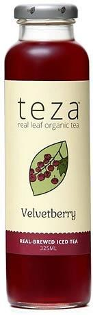 Teza Velvetberry Real Brewed Iced Tea 12x325ml-Health Tree Australia