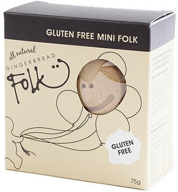 Gingerbread Folk Gluten Free Mini Folk 75g