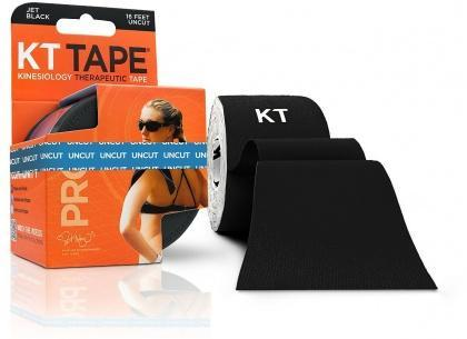 KT Tape Pro 16 ft Uncut Black-Health Tree Australia