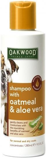 Oakwood I'm the Gentle Type Pet Shampoo with Oatmeal & Aloe Vera 280ml