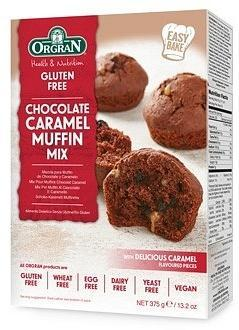 Orgran Chocolate Caramel Muffin Mix G/F 375g