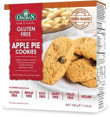 Orgran Apple Pie Cookies G/F 130g