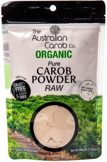 The Australian Carob Organic Carob Powder Raw 200g-Health Tree Australia