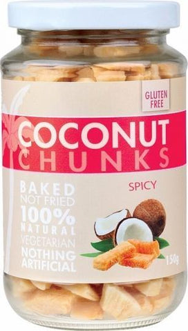 Pure Young Coconut Chunks Spicy 150g-Health Tree Australia
