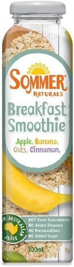 Sommer Naturals Breakfast Smoothie 12x300ml SEP17-Health Tree Australia