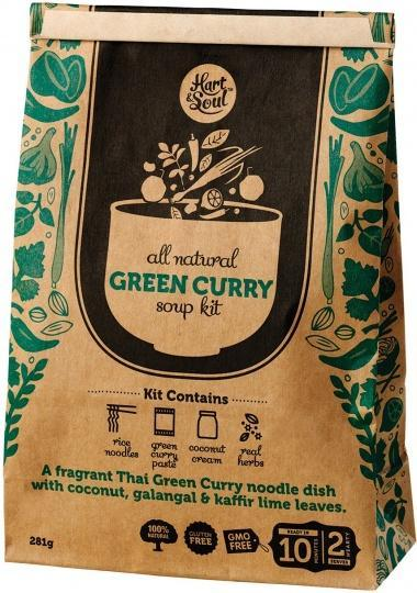Hart & Soul All Natural Green Curry Soup Kit 281g-Health Tree Australia