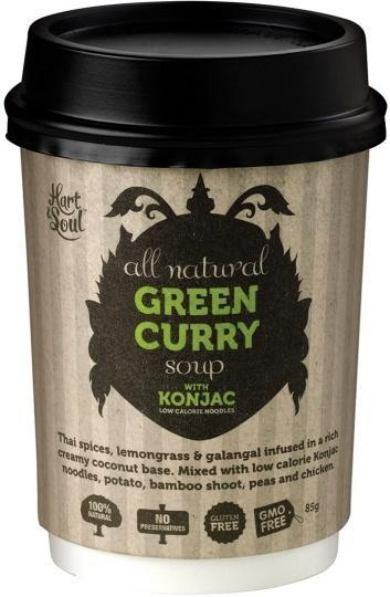 Hart & Soul All Natural Green Curry Soup in a Cup 85g-Health Tree Australia
