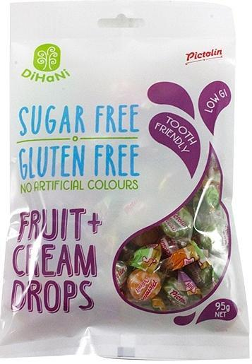 Dihani Fruit & Cream Drops SF 95g