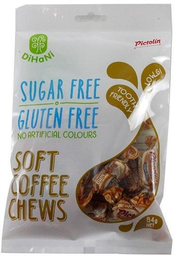 Dihani Soft Coffee Chews SF 84g