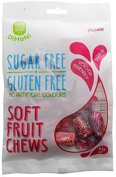 Dihani Soft Fruit Chews SF 84g