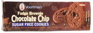 Voortman Sugar Free Fudge Chocolate Chip Cookies 227g-Health Tree Australia