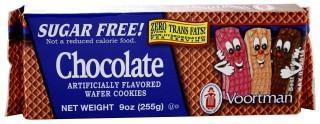 Voortman Sugar Free Chocolate Wafer Cookies 225g-Health Tree Australia